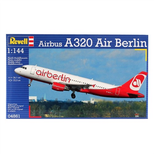 Image of Revell Airbus A320 Air Berlin (4009803048611)