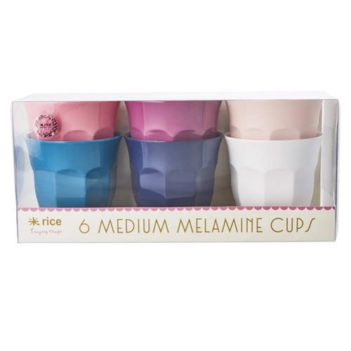 Image of Rice melamin kopper 6 stk medium, simply yes