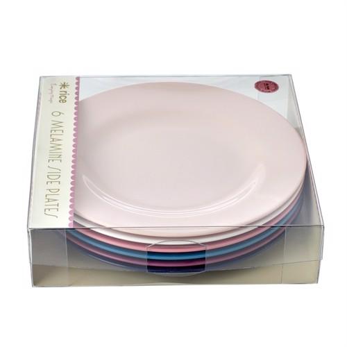 Image of Rice melamin tallerkner 6 stk, simply yes (5708315184167)