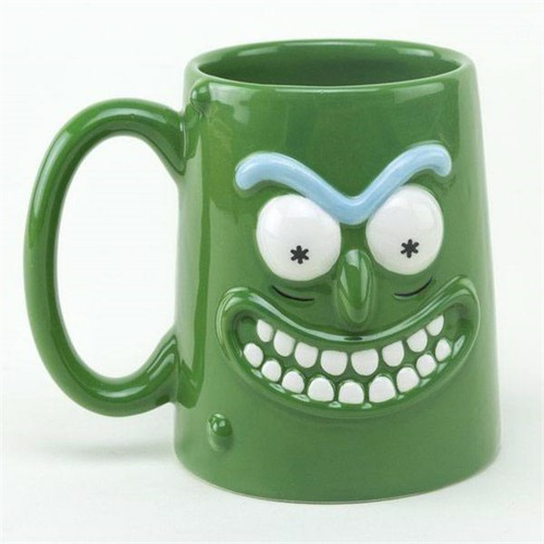 Image of Rick Morty 3D Pickle Rick Kaffekrus