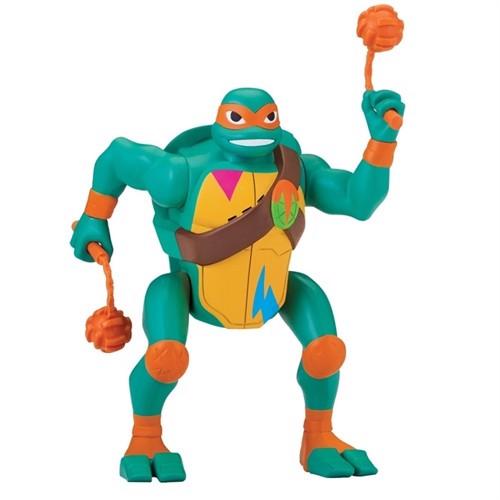 Image of Rise of the teenage mutant ninja turtles deluxe ninja michelangelo