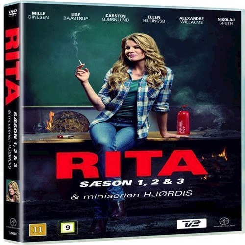 Image of Rita Sæson 1-3 & Hjørdis Miniserie Dvd (7333018003552)