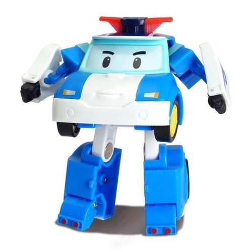 Image of Robocar Poli - Mini Transforming Robot Poli