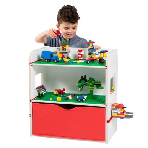 Image of Room2Build Klods Opbevaring Til Børn