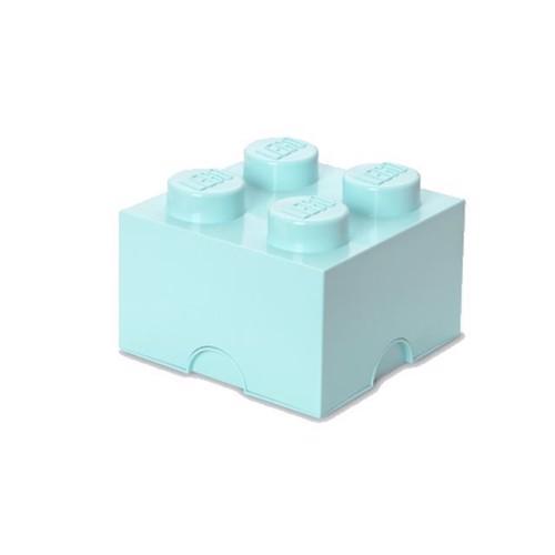Image of Room Copenhagen - Lego Opbevaringskasse Brick 4 - Aqua
