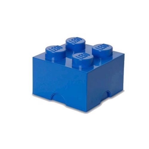Image of Room Copenhagen Lego Opbevaringsklods 4, Blå