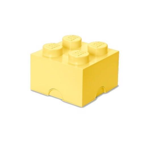 Image of Room Copenhagen - Lego Opbevaringskasse Brick 4 - Cool Gul