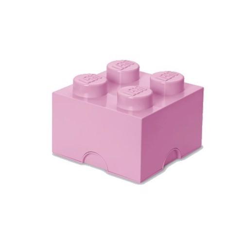 Image of Room Copenhagen Lego Opbevaringsklods 4 Lys Lilla