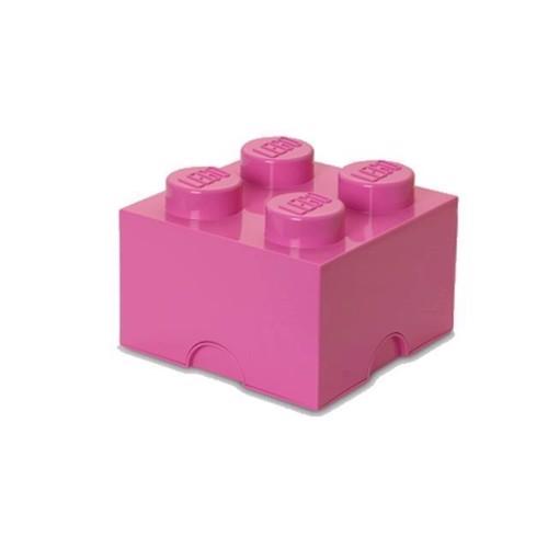 Image of Room Copenhagen Lego Opbevaringsklods 4, Pink