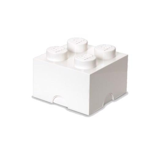 Image of Room Copenhagen LEGO opbevaringsklods 4, hvid