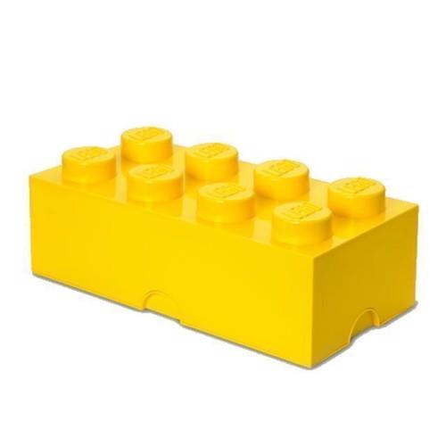 Image of Room Copenhagen LEGO opbevaringsklods 8, gul
