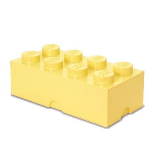 Image of Room Copenhagen - Lego Opbevaringskasse Brick 8 - Cool Gul