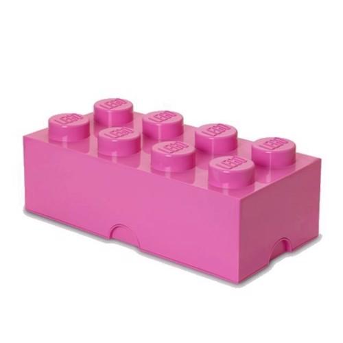 Image of Room Copenhagen LEGO opbevaringsklods 8, lyserød