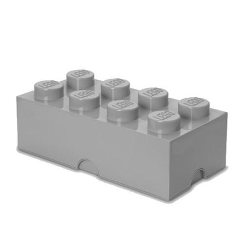 Image of Room Copenhagen LEGO opbevarings klods 8 Sten grå (0887988002543)
