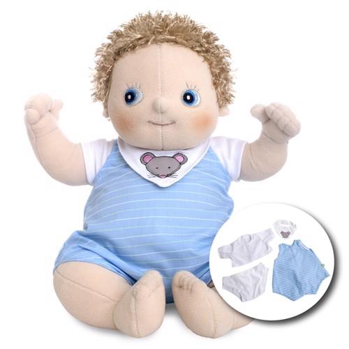 Image of Rubens Barn Rubens Babydukke Med Ble Erik