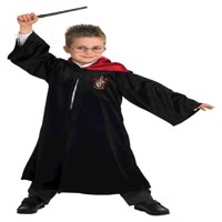 Rubies - Deluxe Harry Potter kappe - Gryffindor - Medium (5-6 år)