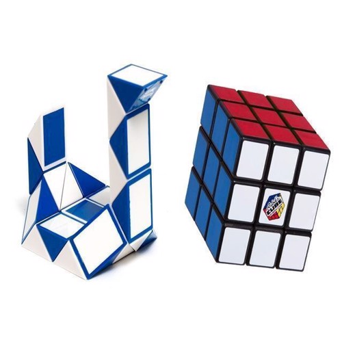 Image of Rubiks Cube - Giftbox Duo - New 3x3 + Twist Snake