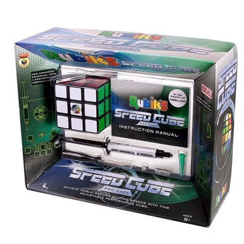 Image of Rubiks Cube, Speed Cube Pro pack (5694310780681)