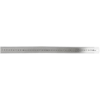 Image of Ruler Metal, 40cm (5707167092453)