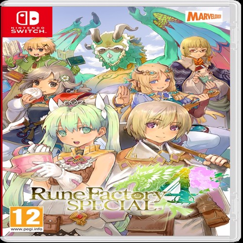 Image of Rune Factory 4 Special, Nintendo Switch (5060540770431)
