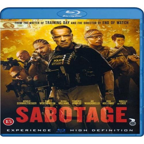 Image of Sabotage Blu-Ray (5708758699198)