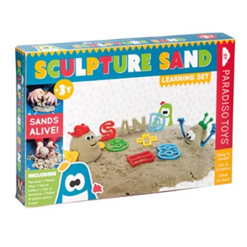 Image of Sandskulpturer Læresæt Med 1Kg Kinetisk Sand (5420051221103)