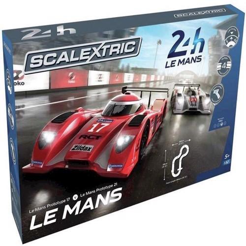 Image of Bilsæt, Le Mans Sportsbiler, Scalextric (5055288629103)