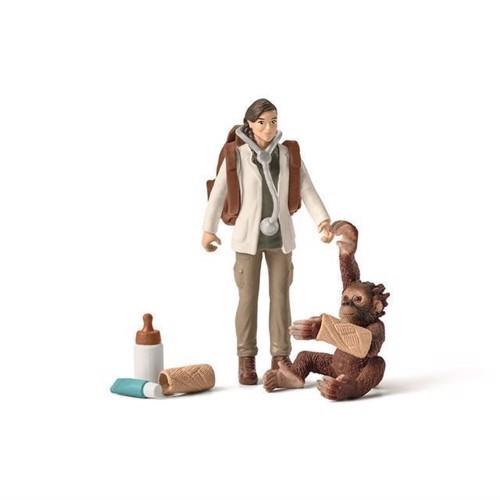 Image of   Schleich dyrlæge på arbejde