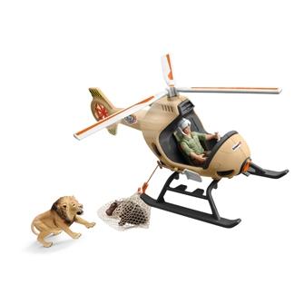 Image of Schleich, Redningshelikopter til dyr (4055744038822)