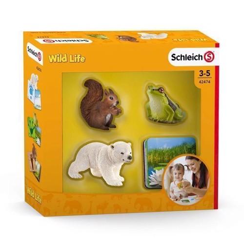Image of Schleich Schleich dyr med billet Wild Life (4055744029813)