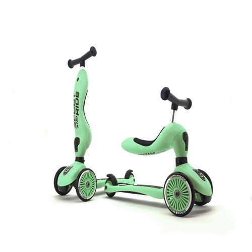 Image of Scoot and Ride - 2 i 1 Balance cykel/ Scooter - Kiwi (4897033963558)