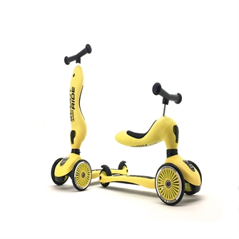 Image of Scoot and Ride - 2 in 1 Balance Bike/ Scooter - Lemon (160629-11) (4897033963541)