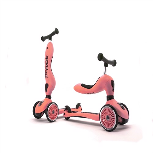 Image of Scoot and Ride - 2 i 1 Balance cykel/ Scooter - fersken (4897033963534)