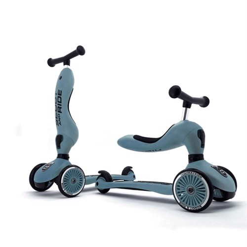 Image of Scoot and ride 2 i 1 balancecykel scooter steel (4897033962711)