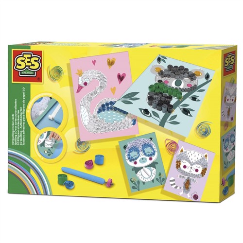 Image of SES 3D Filigree Sticker Cards (8710341147549)