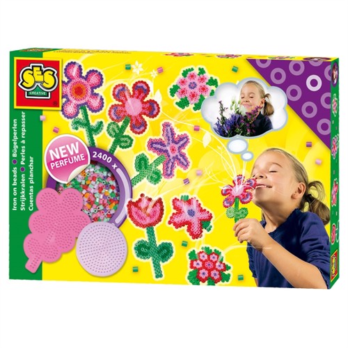 Image of SES Ironing Beads Flowers Fragrance (2400 pieces + 2 plates) (8710341061067)