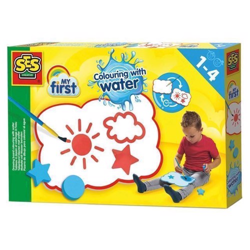 Image of SES My First tegne tavle med faver og vand