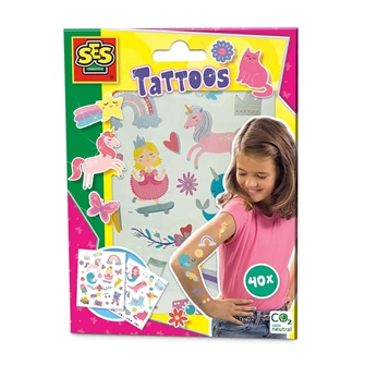 Image of SES Tattoos for Kids - Fairytales (8710341146733)