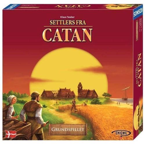 Settlers of catan brætspil, dansk