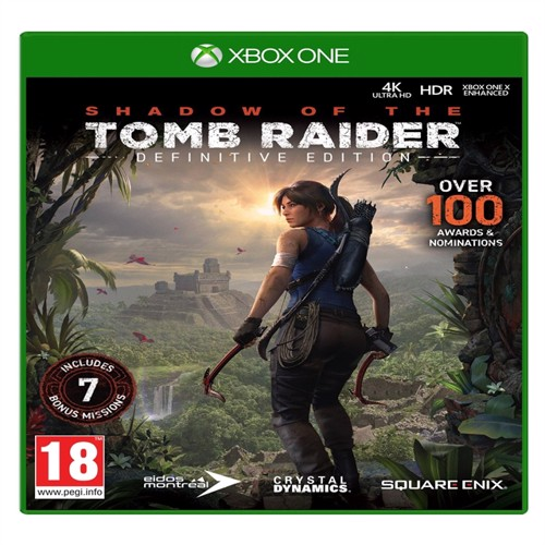 Image of Shadow of the tombraider, definitive edition, PS4 (5021290085879)