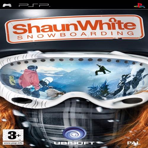 Image of Shaun white snowboarding PSP