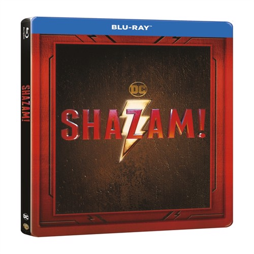 Image of Shazam Steelbook Edition Blu-Ray (7340112749316)