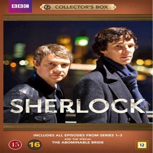 Image of Sherlock Collection sæson 1 3 special The Abominable Bride DVD (7333018006263)