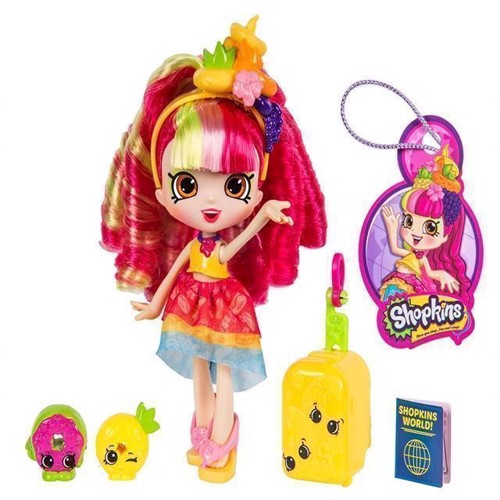 Image of Shopkins Shoppies - S8 World Vacation - America - Donatina (5710948323653)