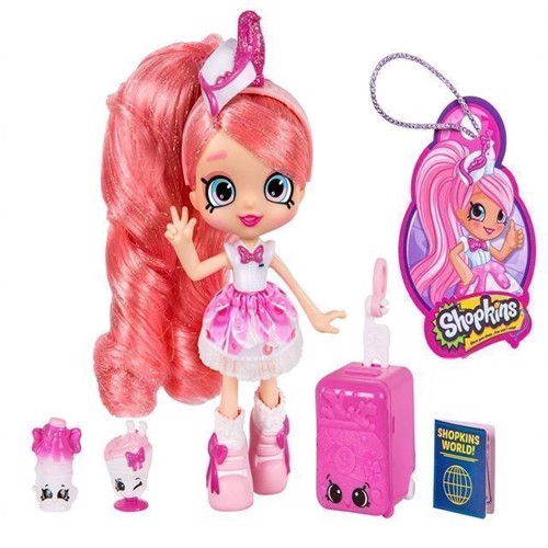 Image of Shopkins Shoppies - S8 World Vacation - America - Pinkie Cola (5710948323646)