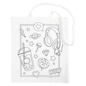 Image of Shoulder Bag with Print (5712854449977)