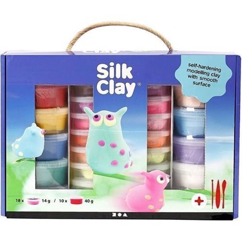Image of   Modellervoks, Silk Clay, gaveæske