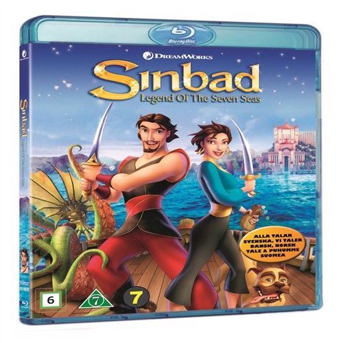 Image of Sinbad: Legend Of The Seven Seas- Blu ray (5053083186302)