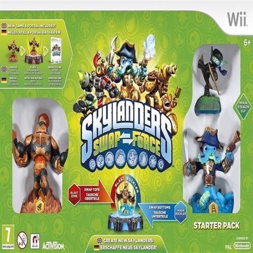 Image of Skylanders Swap Force Starter Pack - Wii