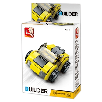 Image of Sluban Builder 4, biler (8719558070442)